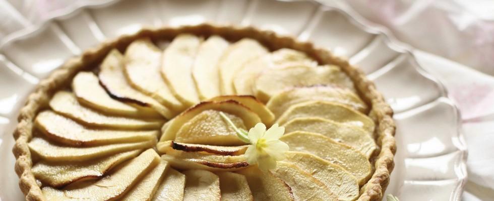 Crostata di mele e crema con bimby