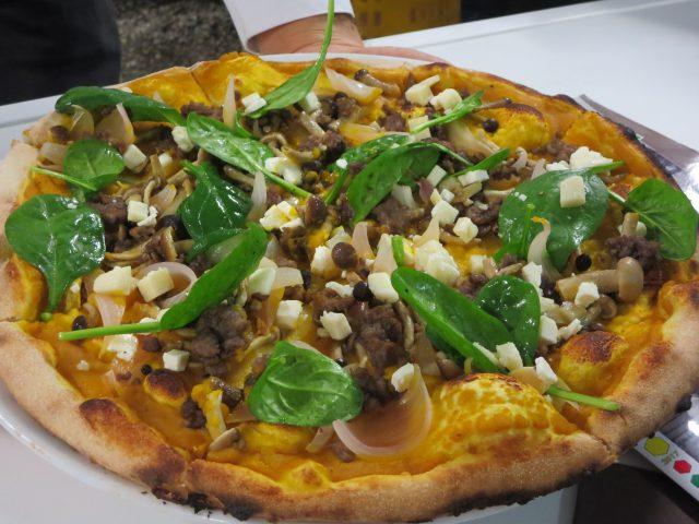 La pizza di Davide Minò