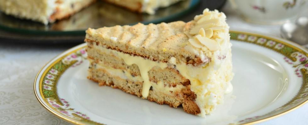 Torta Elvezia preparata con il bimby