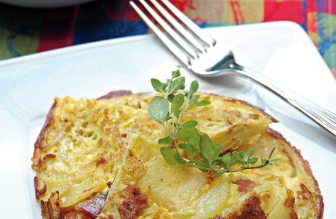 Frittata di cipolle è semplice con il bimby