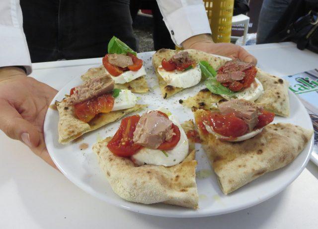 La pizza di Maurizio Mongillo