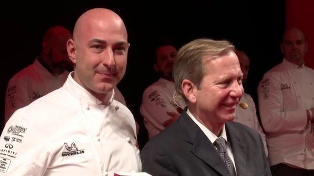 Fabrizio Borraccino chef presso Poggio Rosso in Castelnuovo Berardenga, Siena