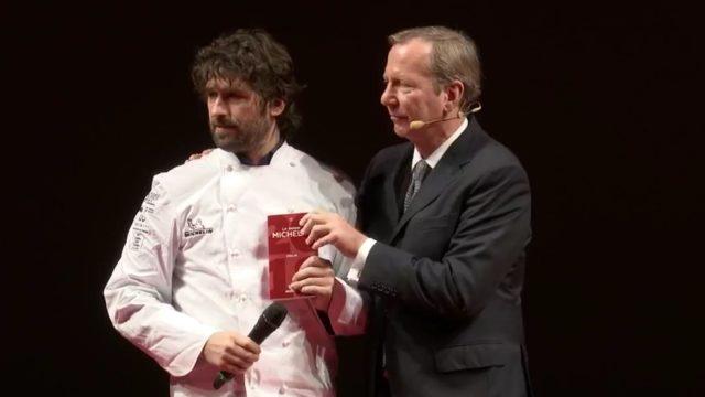 Chef Matias Perdomo del ristorante Contraste in Milano.