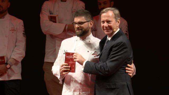 Chef Adriano Baldassarre del ristorante Tordo Matto in Roma.