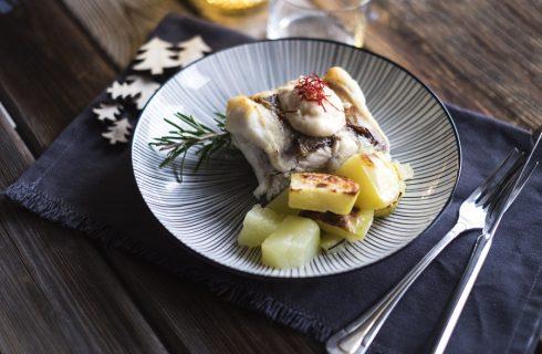Rana pescatrice al forno, perfetta per Natale
