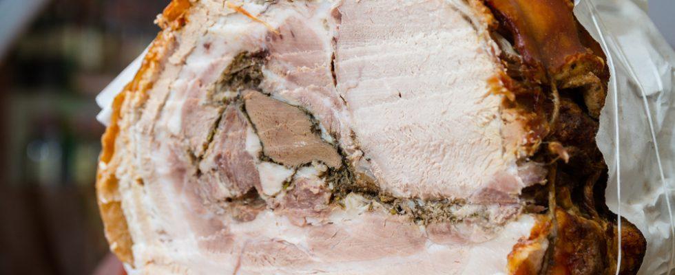 Il Ministero richiama un lotto di porchetta di Ariccia e uno di pancetta affumicata