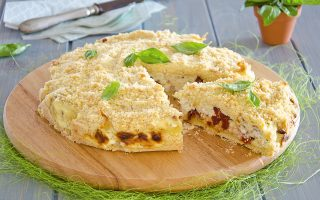 Sbriciolata salata, una torta gustosa