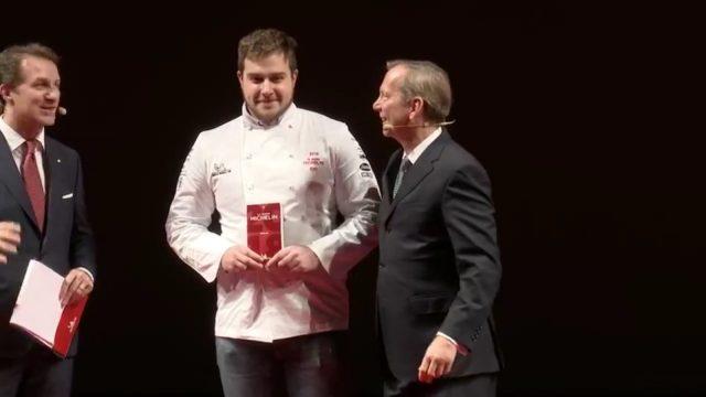 Chef Matteo Metullio del ristorante La Siorola, in San Cassiano, Bolzano.