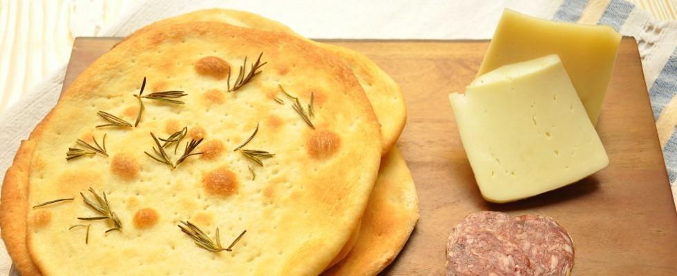 Sfoglie di pizza croccanti con bimby