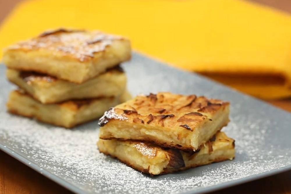 Ricetta per torta di mele sottile