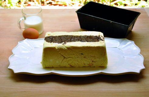 Baverese vaniglia e cioccolato fatta al bimby