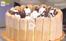 La video ricetta della charlotte al caffé della Prova del Cuoco
