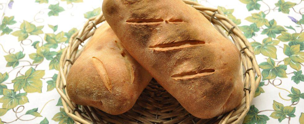 Filoncini di pane con kefir da fare con il bimby