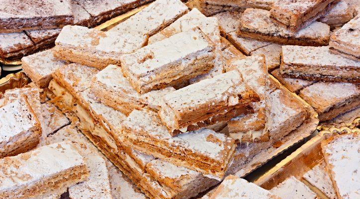 La ricetta del finto diplomatico con crackers