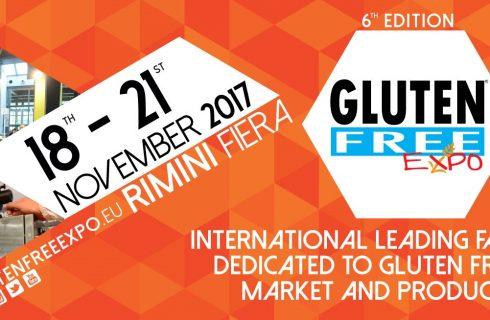 Gluten Free Expo, dal 18 al 21 novembre 2017 a Rimini