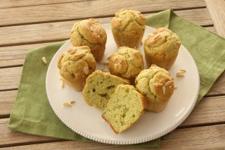 Bimby: muffin basilico e pinoli