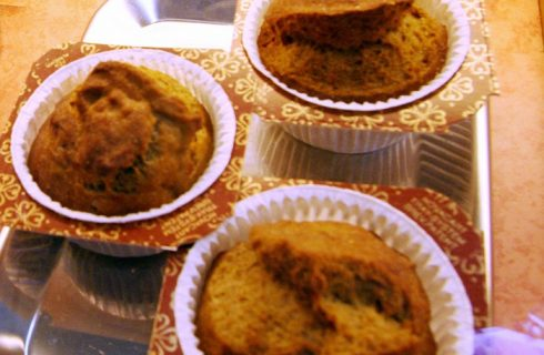 La ricetta dei muffin con farina di castagne da fare con il Bimby