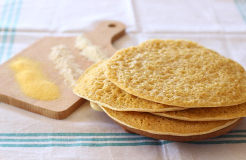 Pane injera, fragrante e spugnoso