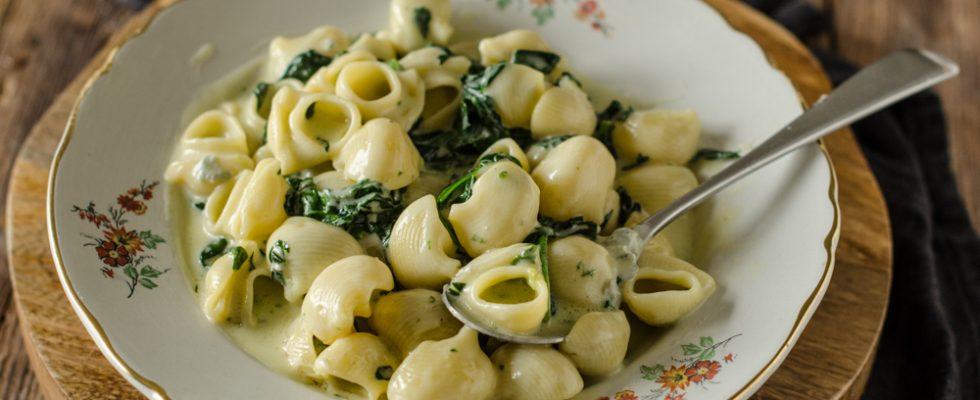 Pipe, gorgonzola e mascarpone, per i golosi