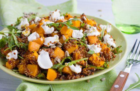 Quinoa con zucca e feta, la ricetta gustosa