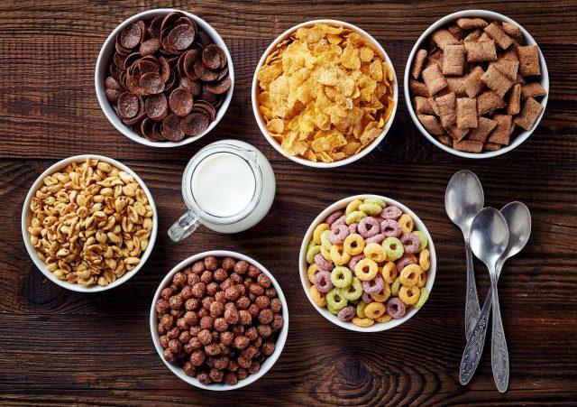 cereali per colazione