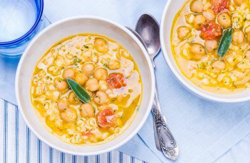 Come fare la zuppa di ceci