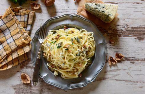 La ricetta della pasta con gorgonzola e panna