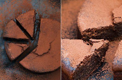 La ricetta della torta con farina di castagne e cacao per la colazione