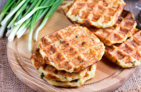 I waffle salati vegan: la ricetta semplice