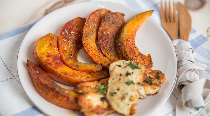 Zucca e feta al forno: la ricetta del secondo vegetariano