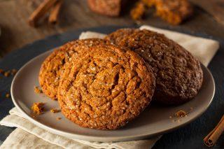 Biscotti gingersnap, ideali per il tè