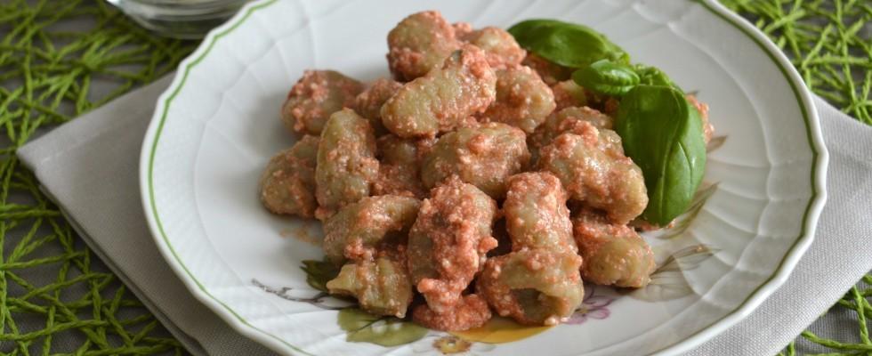 Bimby: gli gnocchetti di melanzane con pomodoro, ricotta e basilico