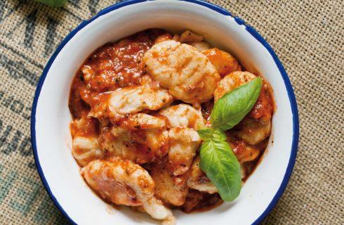 Bimby: gli gnocchi di ricotta con salsa di pomodoro e basilico