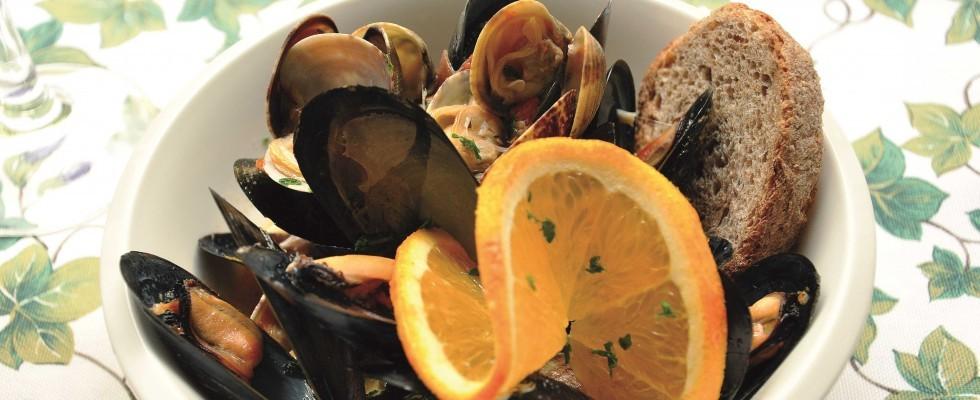 Tradizionale: impepata di vongole e cozze con il bimby