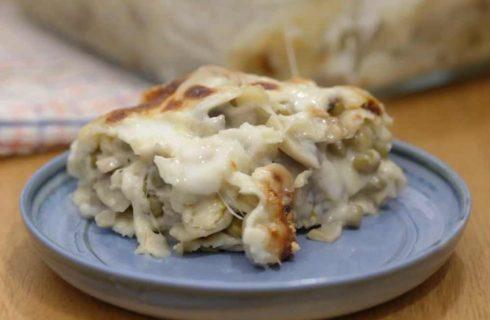 Lasagne di pane carasau, per un primo piatto alternativo