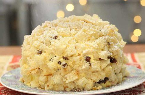 Mimosa di panettone, un dessert per le festività natalizie