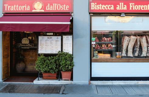 Alla Trattoria dell'Oste di Firenze c'è il sommelier della carne