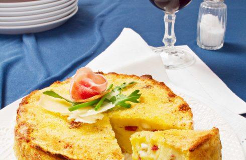 Gâteau di patate con pancetta e provola: ricetta Bimby