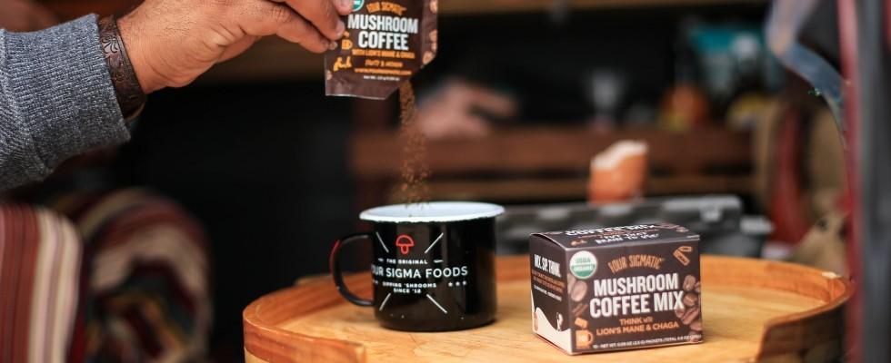 Il caffè del futuro si prepara con i funghi: mushroom coffee