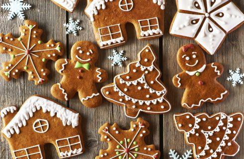 Dolci di Natale: i gingerbread farciti con la nutella