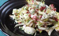 La ricetta dell'insalata di indivia mele e melograno