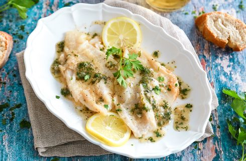 Platessa al limone: secondo di piatto semplice