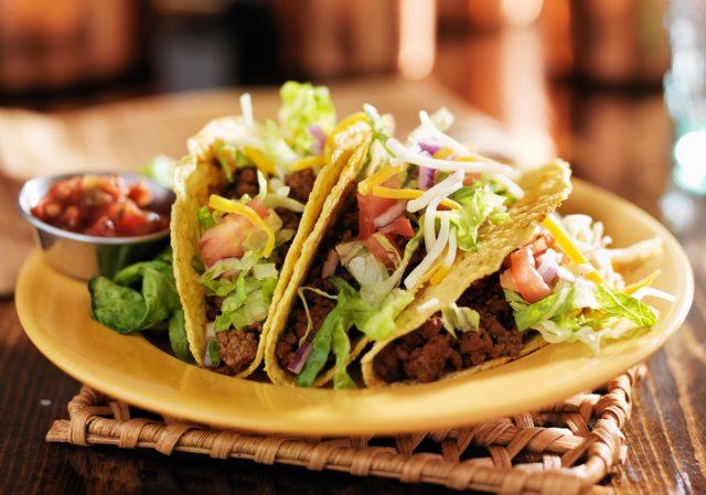 tacos di mais