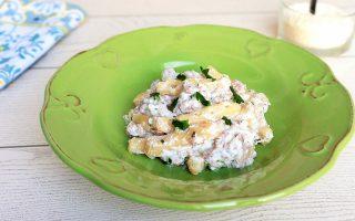 Stascinati, ricotta e salsiccia: piatto lucano