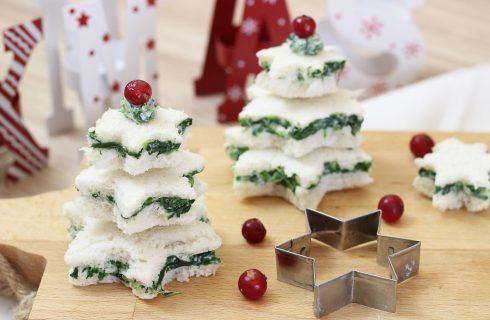 Tartine natalizie, perfette per decorare la tavola del Natale