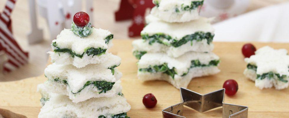 Antipasti Di Natale Divertenti.Tartine Natalizie Ricetta Per Un Antipasto Sfizioso