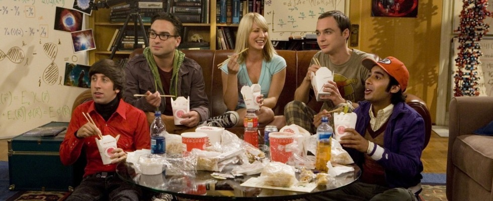 Affamati di Serie: The Big Bang Theory e il take away