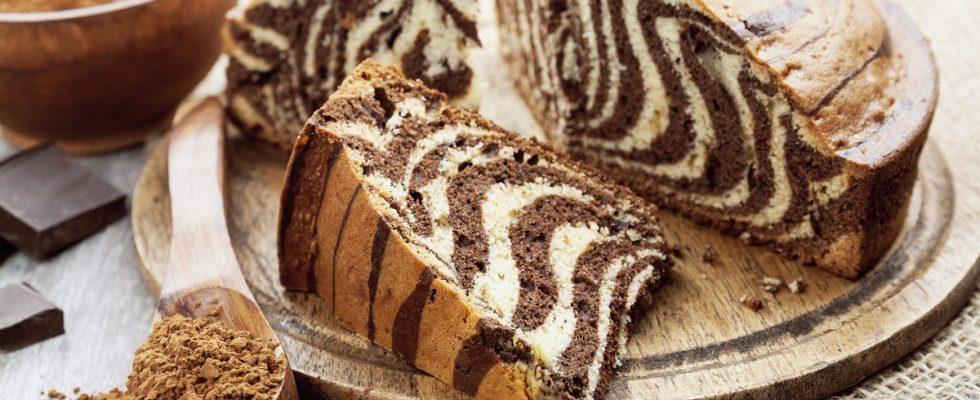 La ricetta della zebra cake da fare con il Bimby