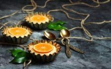 La ricetta delle crostatine all'arancia