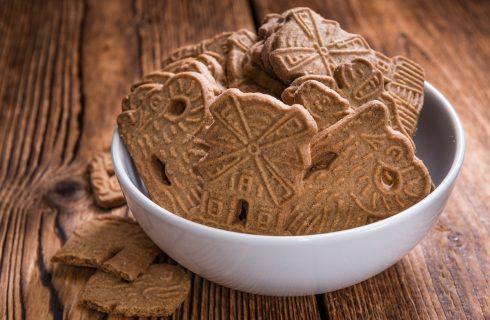 La ricetta dei spekulatius, i biscotti natalizi tedeschi